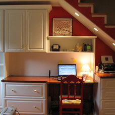 Traditional Home Office by Closets by Design