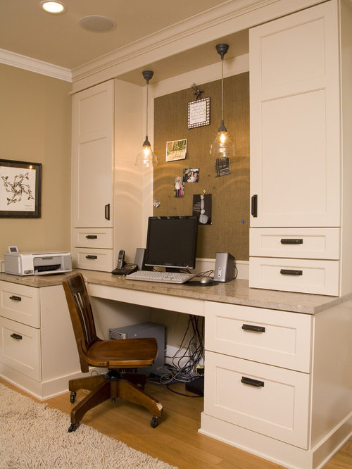 office desk cabinet. traditional builtin desk home office idea in seattle cabinet