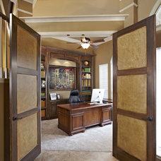 Traditional Home Office by USI Design & Remodeling