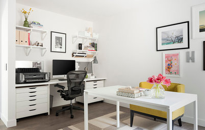 Room of the Day: A Home Office That Really Clicks