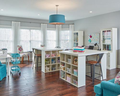 Home Craft Room: Craft Room Design Ideas & Remodel Pictures