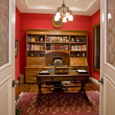Traditional Home Office by Lili Fleming-Nieri, ASID