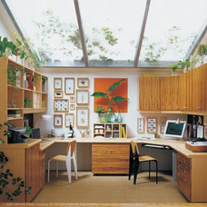 Contemporary Home Office by California Closets