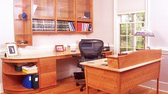 Home Office Desk, Work Surface & Storage