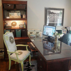 Eclectic Home Office by Brittany (aka Pretty Handy Girl)
