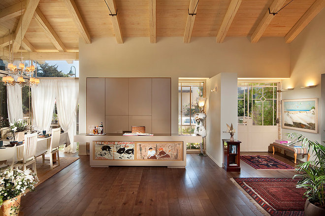 Eclectic Home Office by Elad Gonen