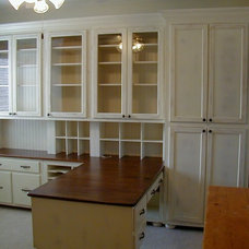 Traditional Home Office by Fiorenza Custom Woodworking