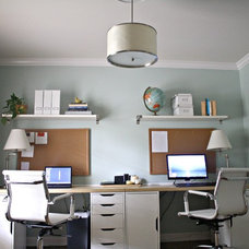 Contemporary Home Office Home Office For Two