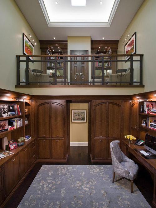Tremendous Houzz Loft Office Design Ideas Remodel Pictures Largest Home Design Picture Inspirations Pitcheantrous