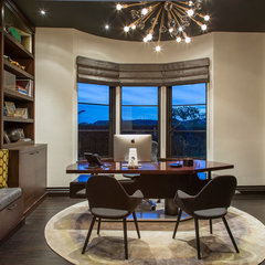 contemporary home office by Gordon Gibson Contruction