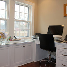 Traditional Home Office by Great Rooms Designers & Builders