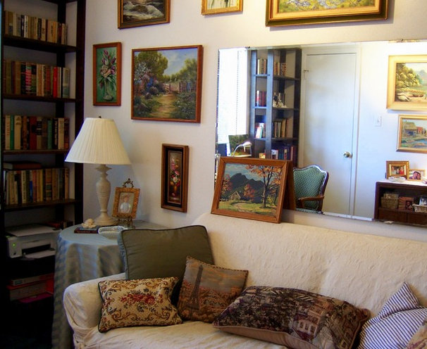 Eclectic Home Office Home Office / Guest Room