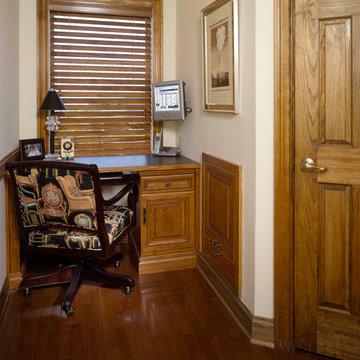 HOME OFFICE-HALLWAY ALCOVE