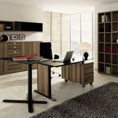 modern home office by Ilija Mirceski
