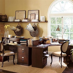 traditional home office home office
