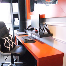 Contemporary Home Office Home Office