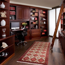 Traditional Home Office by transFORM | The Art of Custom Storage