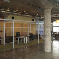 Modern Home Office by Vera Decorative Concrete