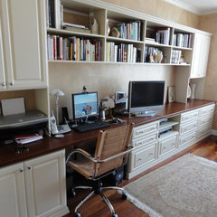 traditional home office by Andrea Gary/Queen of Kerfuffle™