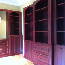 Traditional Home Office by Bella Systems - Custom Closets