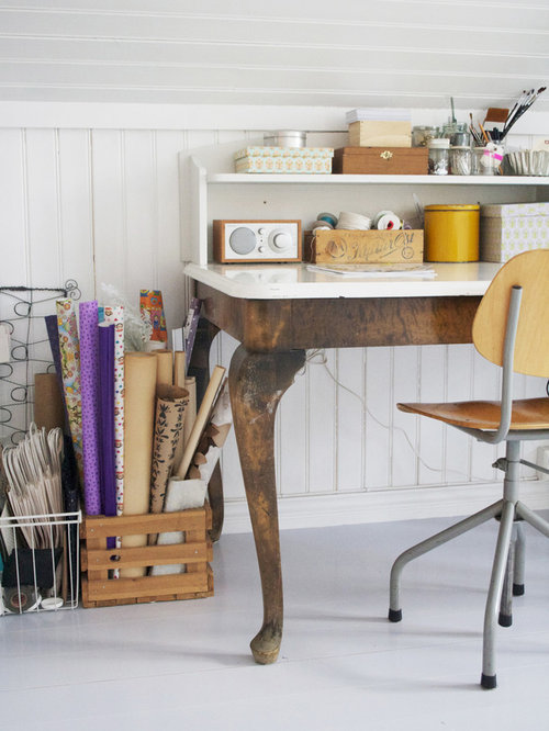 966 vintage style home office design photos chic vintage home office