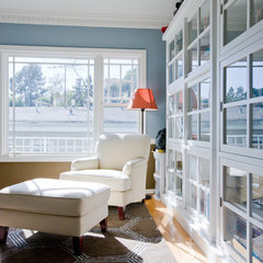 contemporary home office by Jill Seidner Interior Design