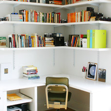Contemporary Home Office by Keep Smiling Home