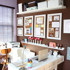contemporary home office by Kelly Porter