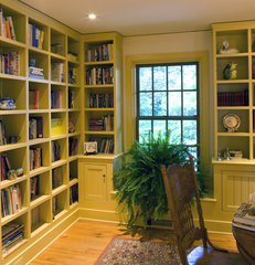 traditional home office by Current Works Construction Inc.