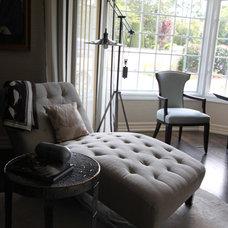 Eclectic Home Office by Nina sobiNina Design