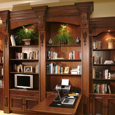 Traditional Home Office by Wood Effects