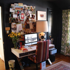 eclectic home office by Lisa Borgnes Giramonti