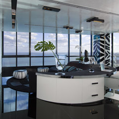 modern home office by Nieto Design Group