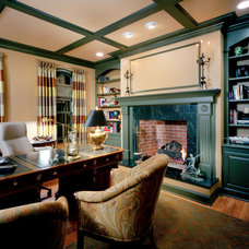 Traditional Home Office by Lori Levine Interiors, Inc.
