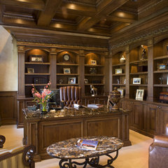 traditional home office by Macaluso Designs, Inc.