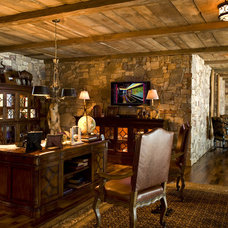 Rustic Home Office by Marie Meko, Allied ASID