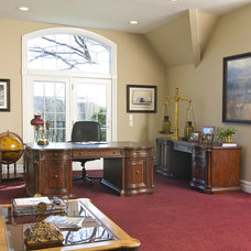 Traditional Home Office by Maureen Fiori, AKBD, Allied Member ASID, CAPS