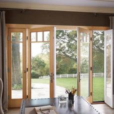 Eclectic Home Office by Milgard Windows & Doors