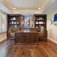 Traditional Home Office by Modern Design Cabinetry