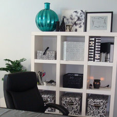 Traditional Home Office Home office on a Budget !
