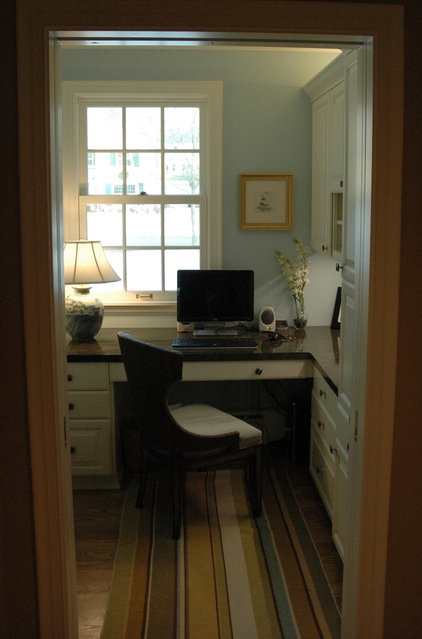 Traditional Home Office by One Room at a Time, Inc.