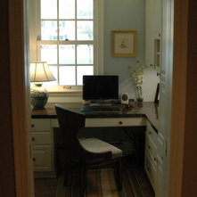 traditional home office by one room at a time inc box room office ideas