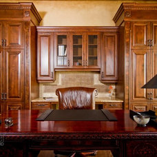 Traditional Home Office by Palmer Todd