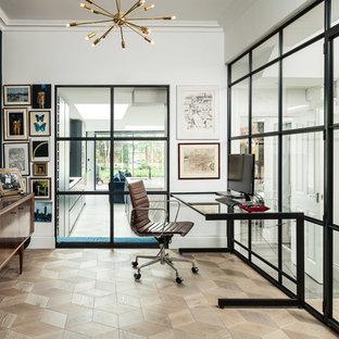 Modernes Arbeitszimmer in London