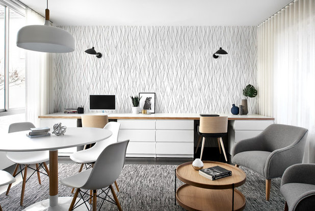 Scandinavian Home Office by schemes & spaces