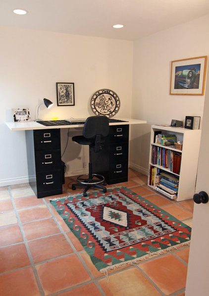 Eclectic Home Office by Shelley Gardea