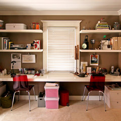 modern home office by Shelley Gardea