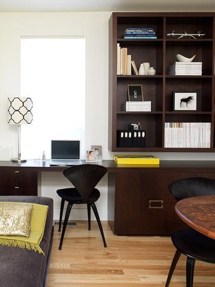 contemporary home office by Shirley Meisels