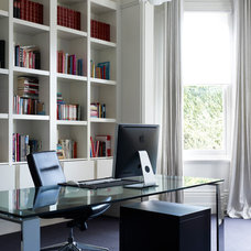 Contemporary Home Office by Steve Domoney Architecture