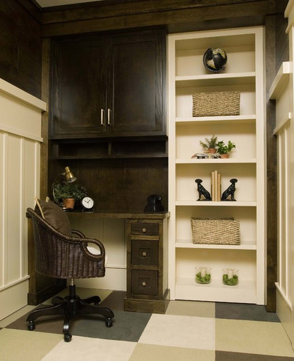 Traditional Home Office by Stonebreaker Builders & Remodelers